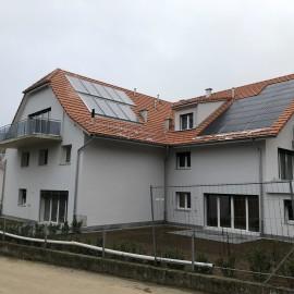 Réalisation d'un immeuble de 9 appartements en PPE à Grange-sous-Trey