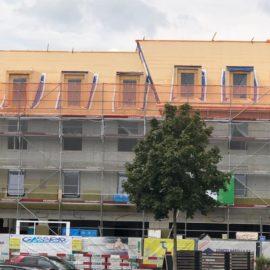 Réalisations immeuble habitations menuiseries extérieures Eppalinges . 2018-2019