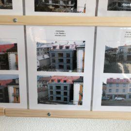 Réalisations , Menuiseries extérieures 2 immeubles les théyades ( maison protégé ) a Yverdon l'es bains .