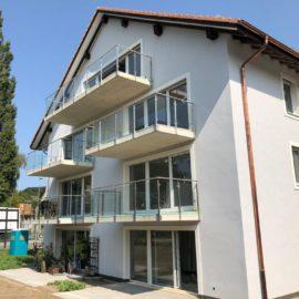 Réalisations immeuble habitations menuiseries extérieures  Gollion 2017-2018
