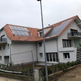 Réalisations 2 immeubles d'habitations grange sous TREY